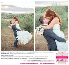 Featured Real Wedding: Sam & Kyle is published in Real Weddings Magazine's Summer/Fall 2015 Issue! Participating vendors include: www.susanneashbyphotography.com, www.windmillfarmandvineyard.com, www.blackpinecatering.com, www.blackpinecatering.com. For more photos and their full list of wedding vendors, visit: www.realweddingsmag.com/?p=52862