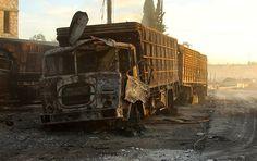 Der Angriff auf den UN-Hilfskonvoi Mitte September nahe Aleppo geht auf das Konto einer der in Syrien operierenden Terrormilizen, wie Russlands Präsident Wladimir Putin am Mittwoch sagte.