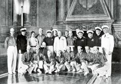 Post with 336 views. The 1938 World Cup winning Italian side pose with Mussolini in military garb x Football Icon, World Football, Italy World Cup, Italian Side, World Cup Champions, Michael Crichton, World Cup Final, Fifa World Cup, World War Ii