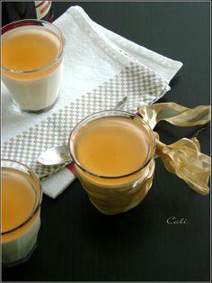 Panna Cotta à la Vanille, Gelée de Campari