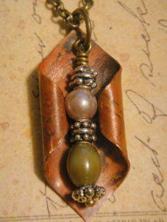 Beautiful handmade necklace  $28.00