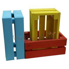 Ящик декоративный деревянный т9