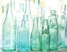 51 Reasons To Crave A Mint Themed Wedding VASES/STORAGE HAVE A SERIES/COLLAGE DECORATION