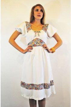 70s Bohemian Dress
