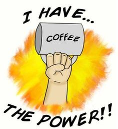 Coffee power.  Get geetered. thegeeteredcoffeeFIEND was here.