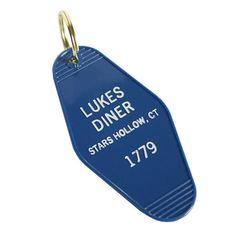 Luke\'s Diner Key Tag by Greenwich Letterpress