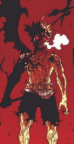 black cover asta demon fanart