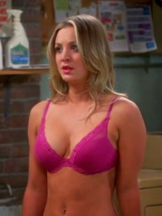 Penny from big bang theory naked apologise, but