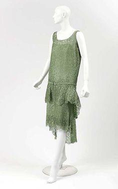 ~Dress Coco Chanel, 1927-1928 The Metropolitan Museum of Art~ #1920s #1920schanel