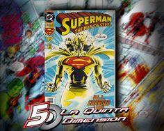 SUPERMAN MAN OF STEEL # 28 Portada de J. Bogdanove. $ 50.00 Para más información, contáctanos en http://www.facebook.com/la5aDimension