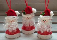 terra cotta pot crafts | in designs – terra cotta pots crafts – christmas crafts with pine ...