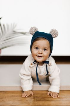 Poms – Briar Bonnets #baby #bonnets #kidstyle #babystyle