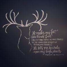 Psalm 18:33