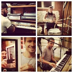 Backstreet Boys studio London 2012