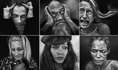 Photographer Lee Jeffries uncovers human face of drug addiction http://dailym.ai/1iA1fQc