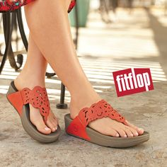 f1ede37d2a905d Spice up your spring outfit with a pair of fashionable FitFlop sandals.  Look fashion forward