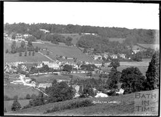 Monkton Combe view c.1934