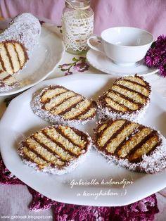 Gabriella kalandjai a konyhában :) Ital Food, Waffles, Biscuits, Food And Drink, Healthy Recipes, Healthy Food, Sweets, Dishes, Cookies