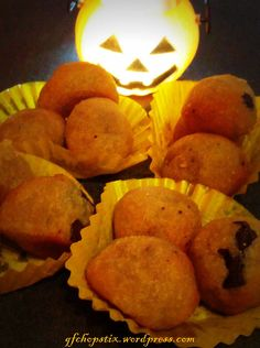 Almond Choc Chunk Cookie Balls