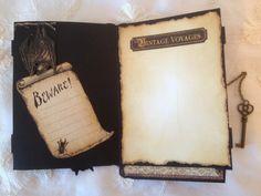 Stempunk Spells card series  - Blog tutorial