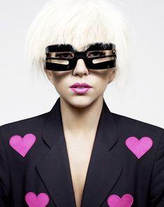 Lady Gaga by John Lindquist for Sunday Times Style magazine Lady Gaga Sunglasses, Crazy Sunglasses, Sunglasses Women, Cheap Sunglasses, Cyberpunk Fashion, Emo Fashion, Gothic Fashion, Hussein Chalayan, Lady Gaga Pictures