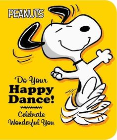 Dream big, try your best, then do your happy dance with Snoopy and the Peanuts gang in this uplifting board book thats perfect for gift-giving! You tried your best, you gave it your all, you went for