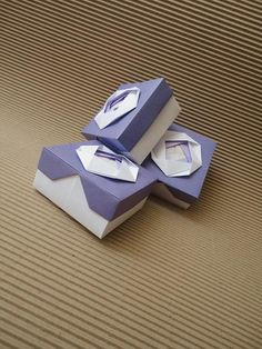 Box Origami Boxes, Origami Paper, Easy Crafts, Arts And Crafts, Paper Crafts, Paper Boxes, Cute Box, So Creative, Craft Box