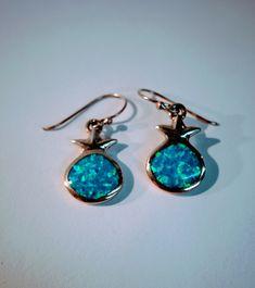 Silver blue Opal Pomegranate shape drop Earrings, jewish jewelry, kabbalah jewelry, judaica gifts, #israel #judaism #jew #jews #hebrew #kosher #jerusalem #shabbat #shalom #jewelry #jewishjewelry #evangelist #earrings  #love  #HolyLand #art #design #judaica #history #catholic #bible #religion  #pendant #necklace  #ring #bracelet #menorah #judaica #masonic #Israelite #shema #kabbalah #messianic #chai #biblical #jerusalem #paleo #rings #necklaces