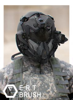 ArtStation - Military Helmet, Chansong Kang