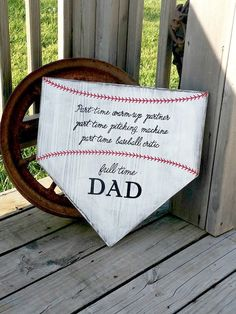 Fathers Day Crafts Discover Baseball Sign - Homeplate Sign - Baseball Dad Gift - Home Plate Wall Sign - Sports Sign - Softball Decor - Gift for Dad Father - Coach Baseball Coach Gifts, Baseball Signs, Baseball Crafts, Baseball Mom, Baseball Tickets, Baseball Stuff, Baseball Field, Baseball Equipment, Baseball Party