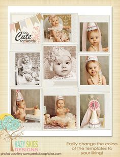 Blog & Collage Template  by Hazy Skies Designs