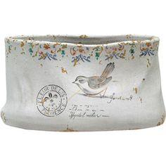 Florence Planter. ceramic envelopes/boxes, penpal, lost form of communication