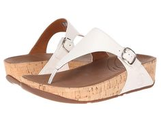 1688164d28ab30 FitFlop The Skinny™ Leather Urban White - Zappos.com Free Shipping BOTH  Ways Fitflop