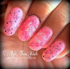 Style Those Nails: Love is a Promise- A promise Day Nail art
