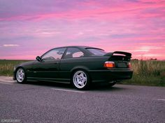 BMW E36 M3 GT black