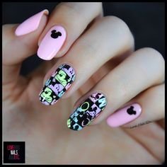 Mickey Mouse par Love Nails Etc