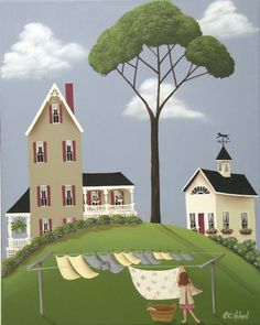 ruby's boarding house, catherine holman folk art