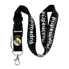 Shop Real Madrid FC Neck Lanyard Keychain Holder Snap Buckle BLACK at BalliGifts.com the # 1 Online Store for Cool Gifts. Free Shipping order $19.99+ USA Real Madrid Football Club, Lanyard Keychain, Cool Gifts, Free Shipping, Personalized Items, Usa, Store, Shopping, Black