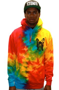 The OG Walter Tie Dye Hood_Yellow by 8103