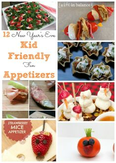 New Year's Eve Recipes 12 Kid Friendly Appetizers