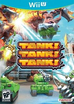 - Wii U in www. Tank Tank, New Tank, Battle Party, Wii U Games, Level Up, Party Games, Nintendo Wii, Videogames, Product Launch