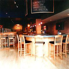 The Old Port Sea Grill bar. Portland, ME.