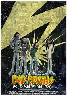 Bad Brains: A Band in DC film poster