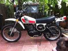 1976- Yamaha XT500