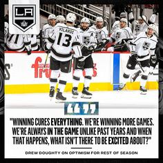 "LA Kings on Instagram: ""Drew Doughty's excited for what's to come."""