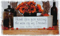 Hey, I found this really awesome Etsy listing at https://www.etsy.com/listing/92589836/personalized-thank-you-for-raising-the