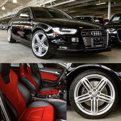 CPO 2014 #Audi #S4 with two tone red/black interior#AudiSeattle #Seattle #Bellevue #Redmond #pacNW | Audi Seattle | Seattle, WA