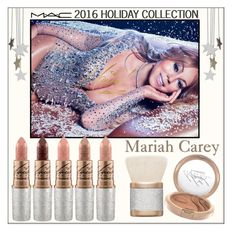 """Mariah Carey x Mac Holiday Collection 2016"" by whirlypath ❤ liked on Polyvore featuring beauty, Mariah Carey and MAC Cosmetics"