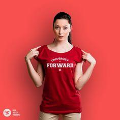 o tak, nosiłabym bardzo! http://koszulkowo.com/produkt/university-of-forward-tshovsdms-xs-redd #koszulkowo