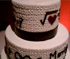 For Math Geeks - XKCD wedding cake - Boing Boing